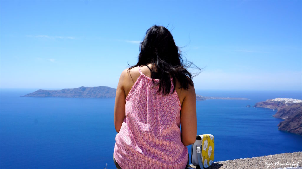 Hiking to Oia - travel inspiration for 2017