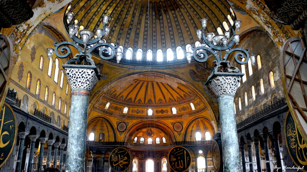 Top 10 sights in Istanbul - travel inspiration for 2017