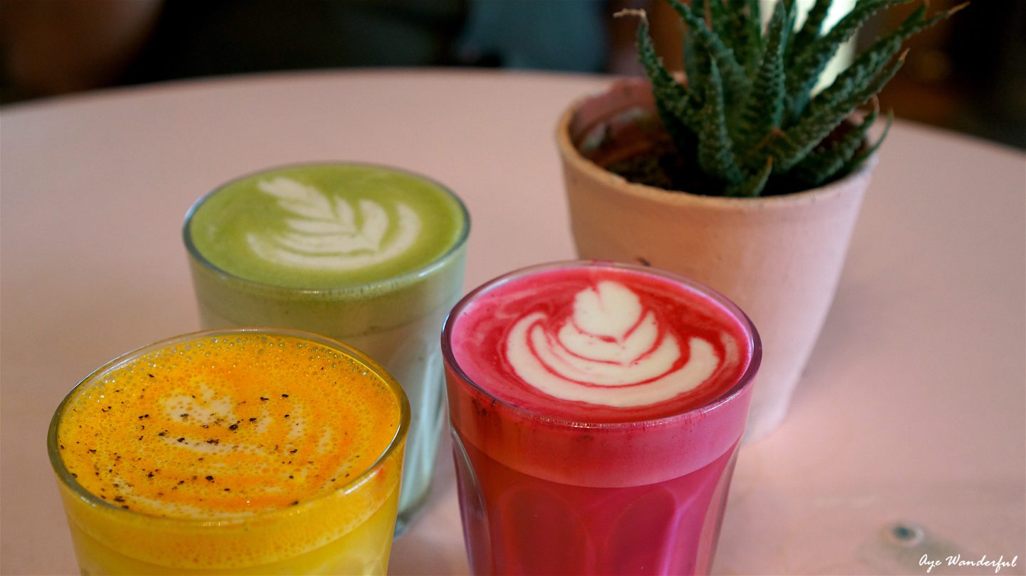 Vivid Lattes at Palm Vaults in Hackney