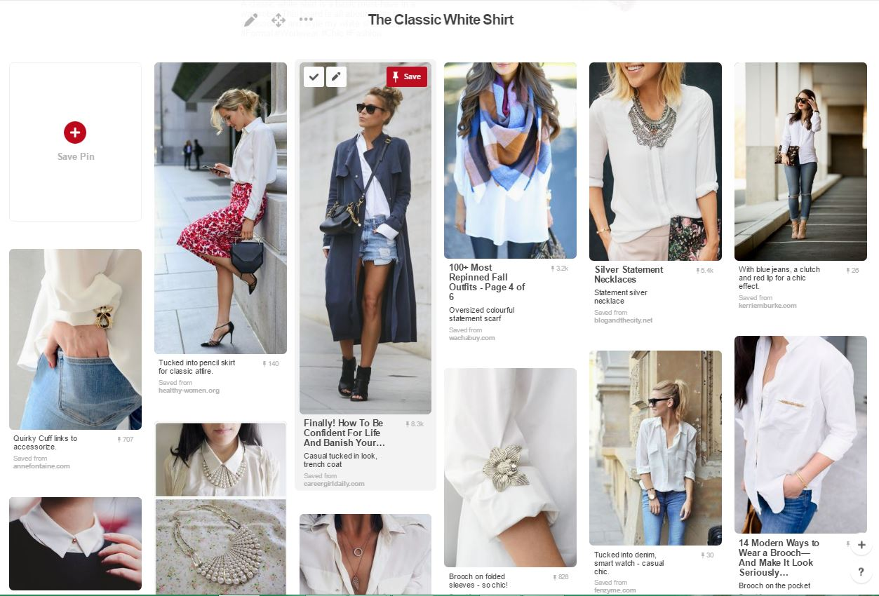 Pinterest tips for Personal Style