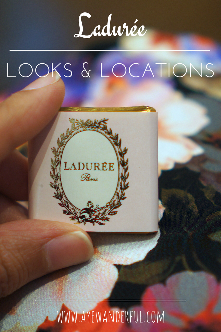 Looks & Locations | Macarons at Ladurée London | www.ayewanderful.com