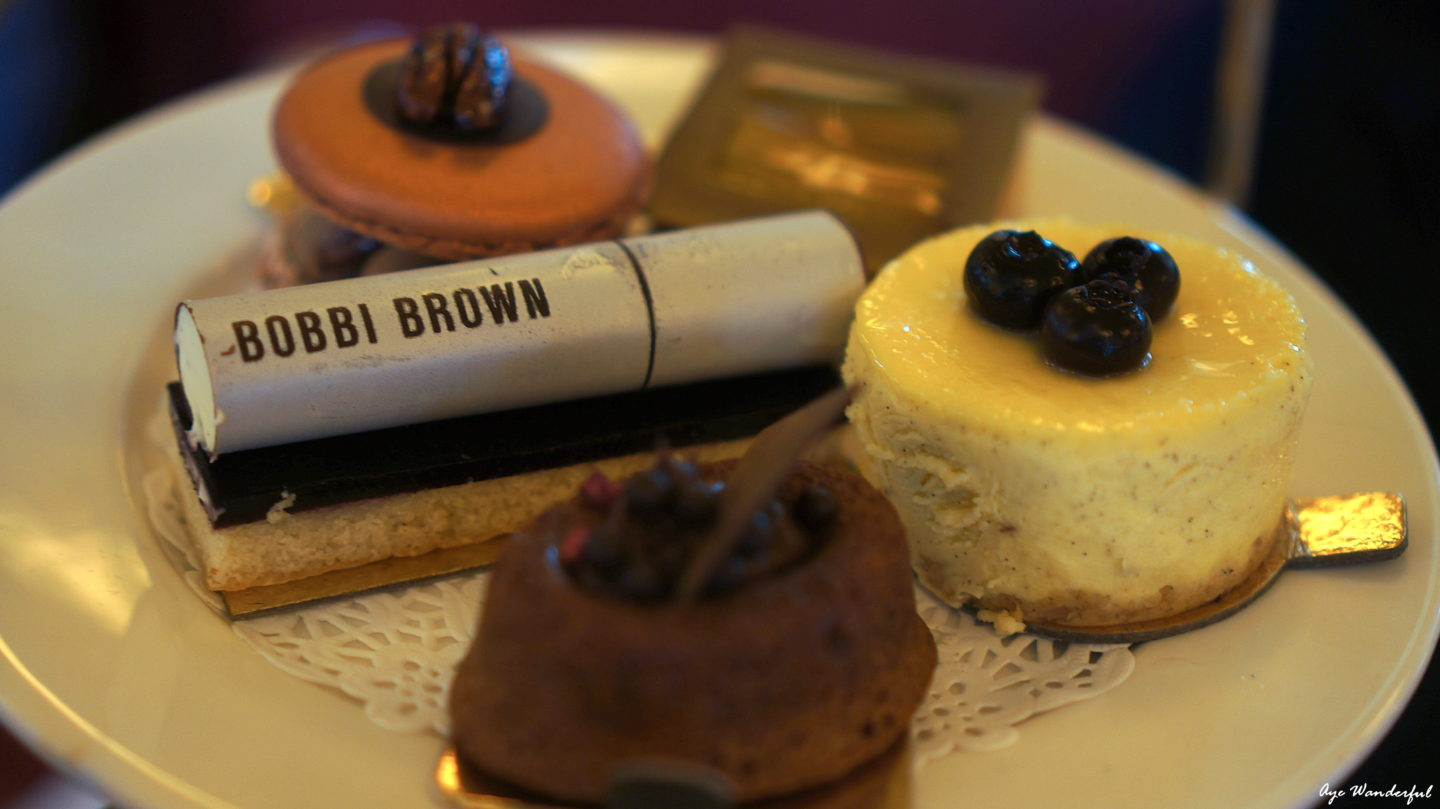 Bobbi Brown Afternoon Tea at Balthazar London | Read more at www.ayewanderful.com
