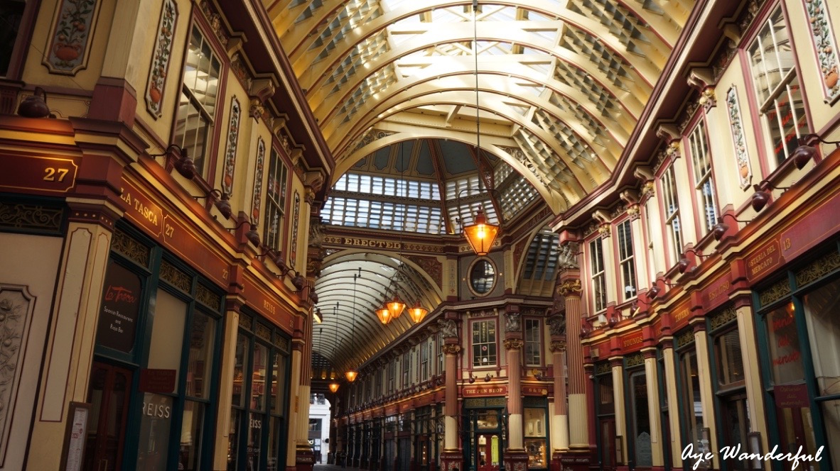 Urban Ramblings : Leadenhall Market