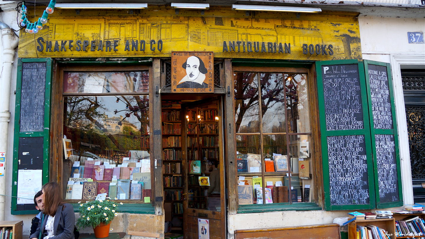 My favourite bookstore – Shakespeare and Company, Paris