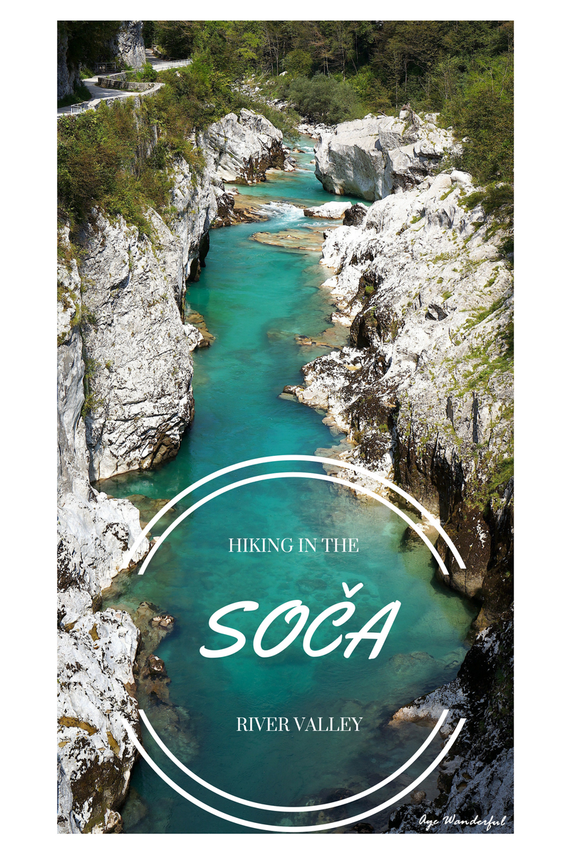 Hiking in the Soca River Valley
