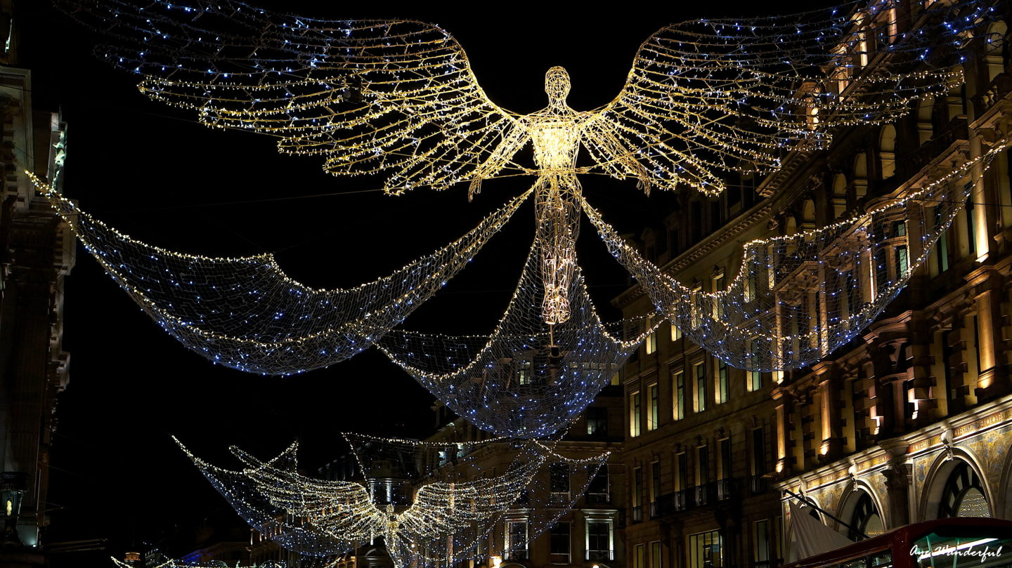 chasing christmas decorations in london
